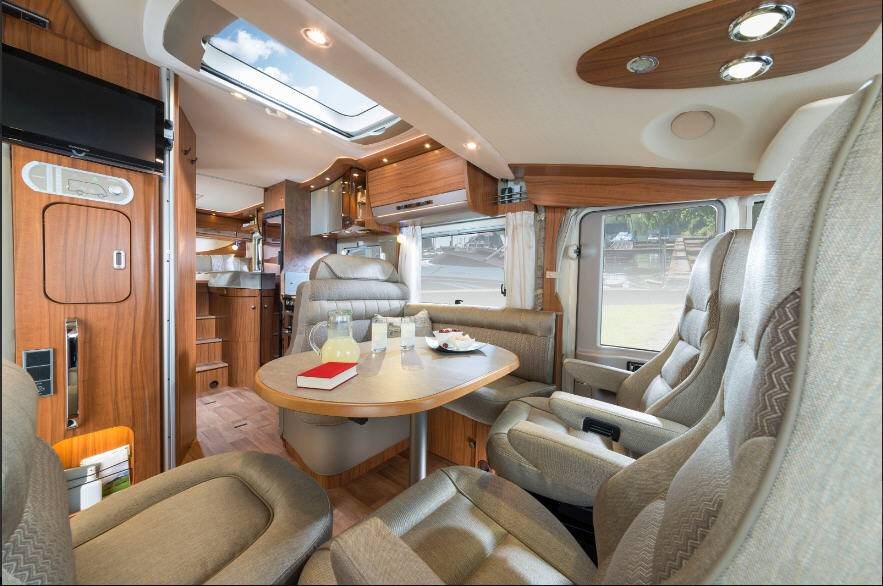 Hymer B Premium Line B588PL - Interior
