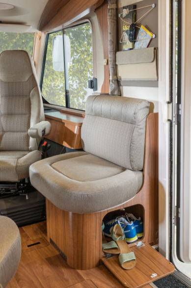 Hymer B Premium Line B598PL - Interior