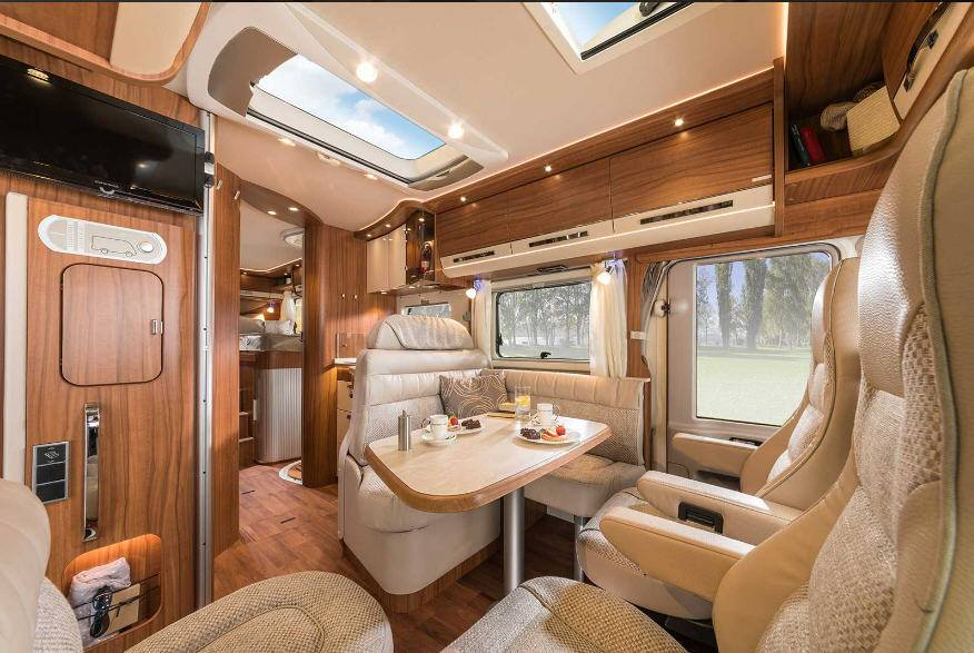 Hymer B Premium Line B678PL - Interior