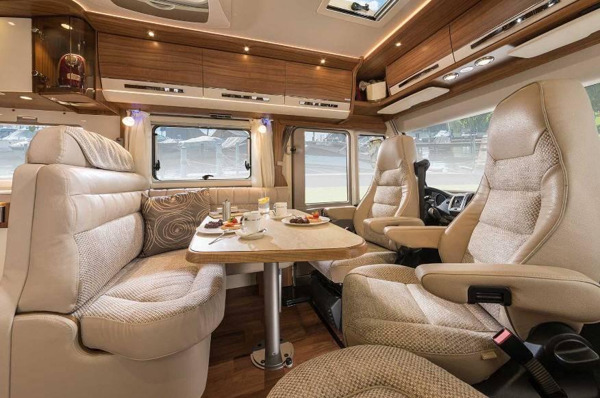 Hymer B Premium Line B708PL - Interior