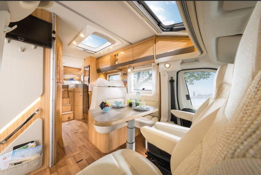 Hymer Tramp SL T568SL - Interior