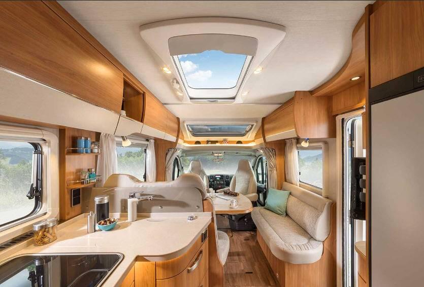 Hymer Tramp SL T588SL - Interior