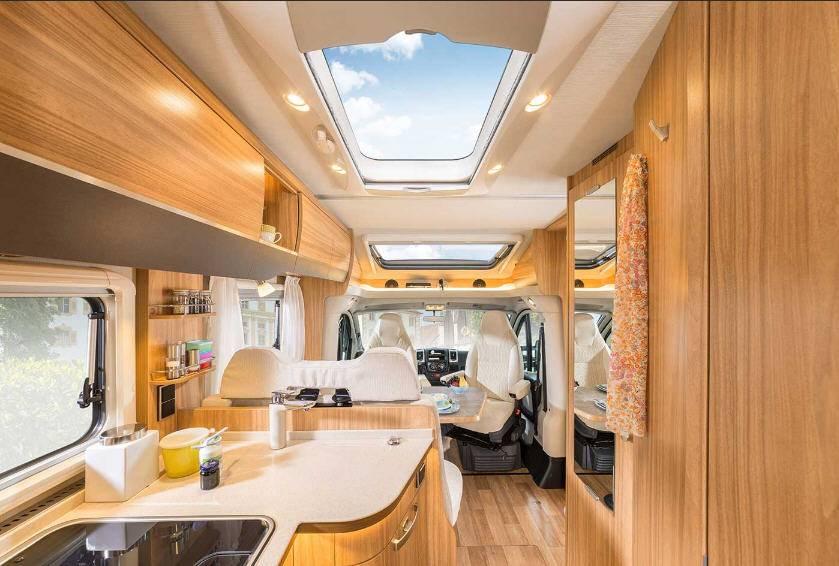 Hymer Tramp SL T704SL - Interior
