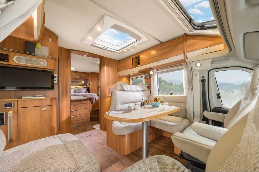 Hymer Tramp SL T708SL - Interior