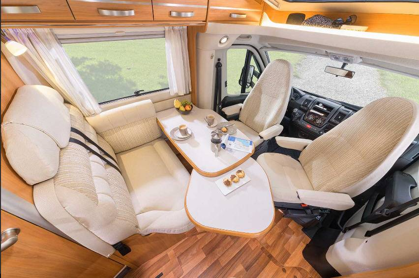 Hymer Exis T T414 - Interior