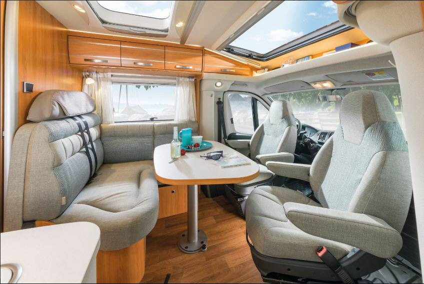 Hymer Exis T T 474 - Interior
