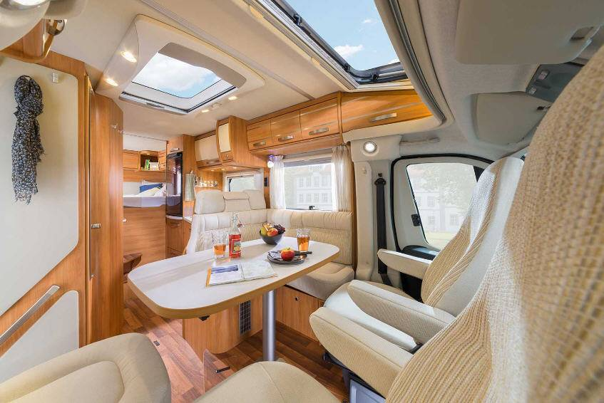 Hymer Exis T T 564 - Interior