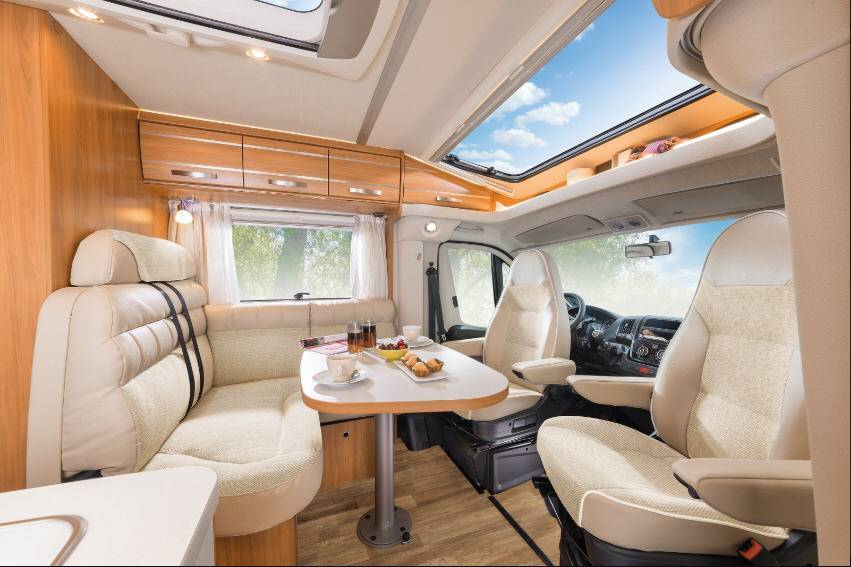 Hymer Exis T T 588 - Interior