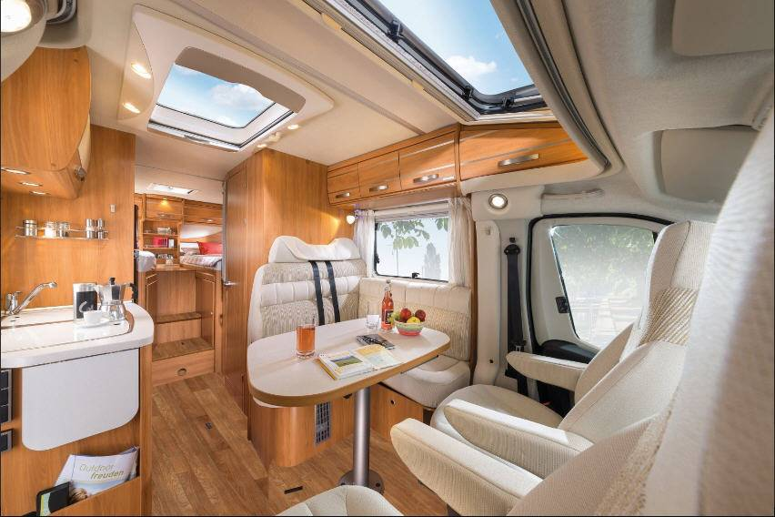 Hymer Exis T T 688 - Interior