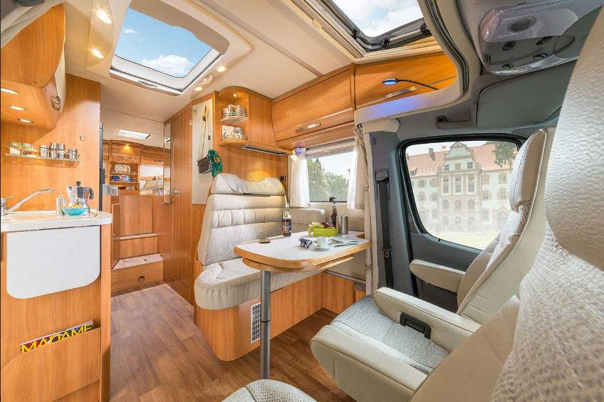 Hymer ML-T ML 580 T - Interior