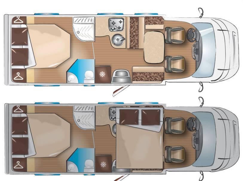 Itineo  MB2740 - Plano - Distribución