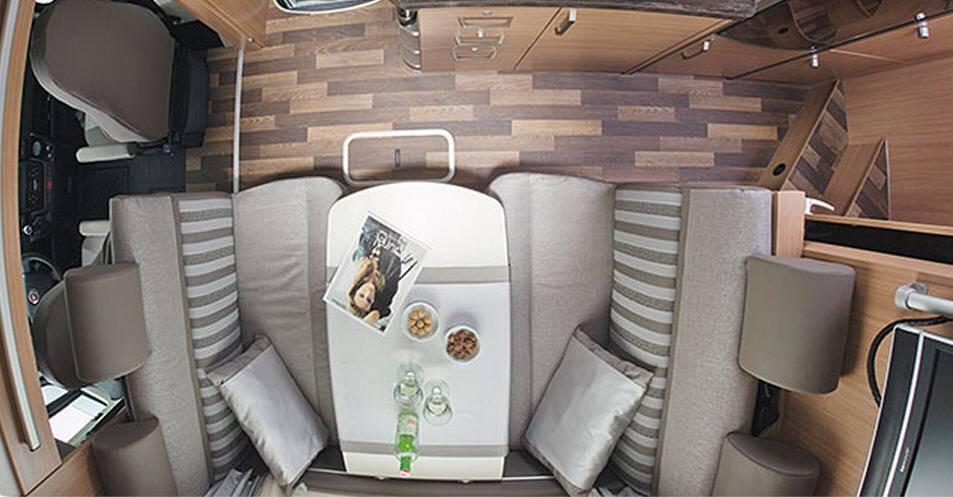 Knaus Sky Traveller 600 DKG - Interior