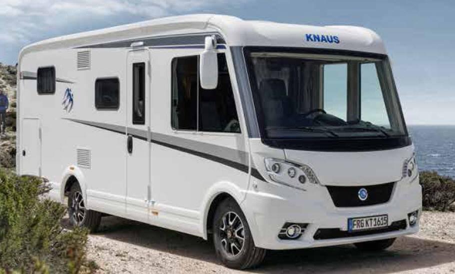 Exterior del modelo Knaus Van I 550 Md