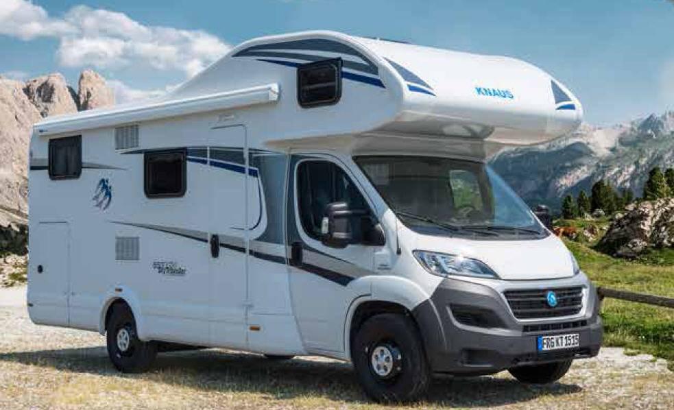 Knaus Sport Traveller TR 600 DKG - Exterior