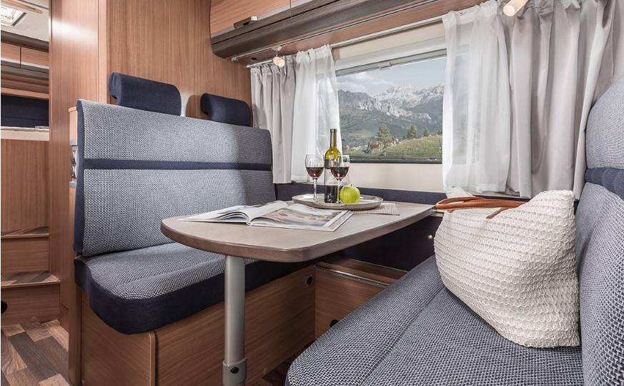 Knaus Sport Traveller Sky TR 600 DKG - Interior