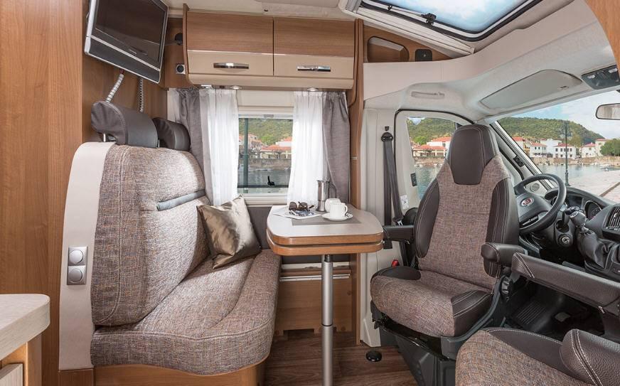 Knaus Van TI 600 MG - Interior