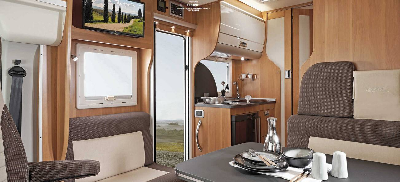 Laika ECOVIP PERFILADOS EV 410 - Interior