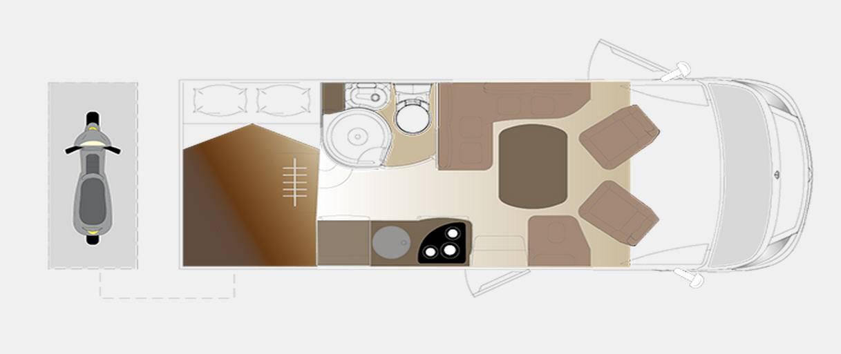 Laika ECOVIP INTEGRALES EV 610 - Plano - Distribución