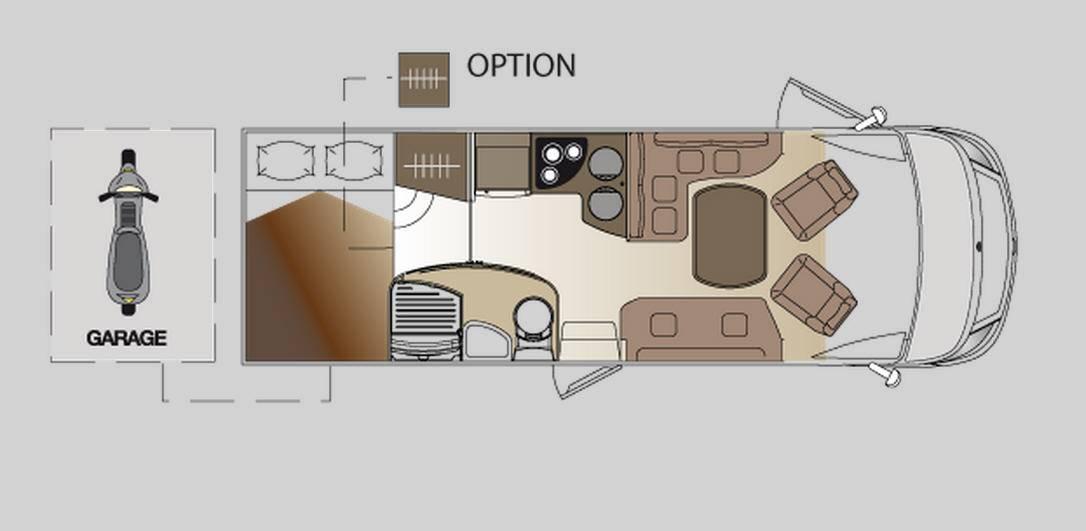 Laika ECOVIP INTEGRALES EV 710 - Plano - Distribución