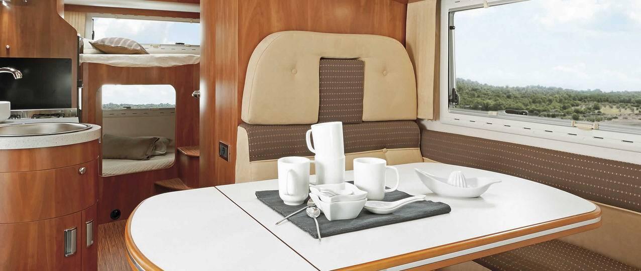 Laika KREOS CAPUCHINOS 5001SL - Interior