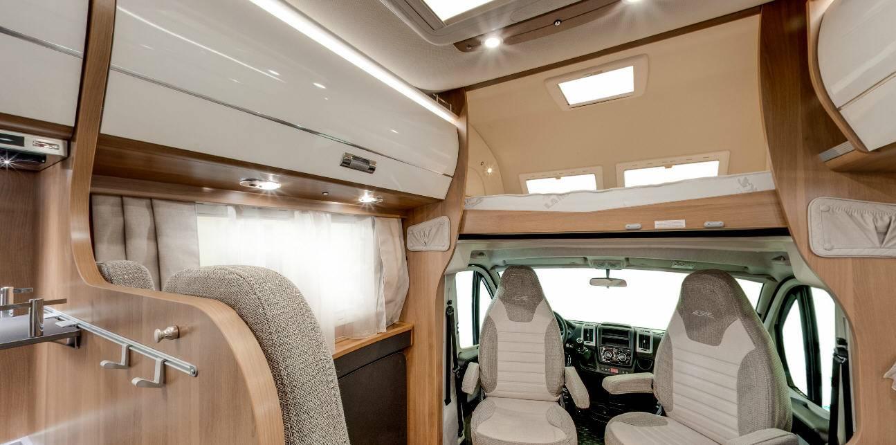 Laika Ecovip EV 9 - Interior