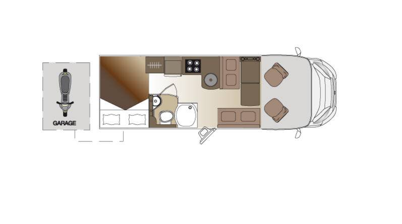 Laika Ecovip EV 9 - Plano - Distribución