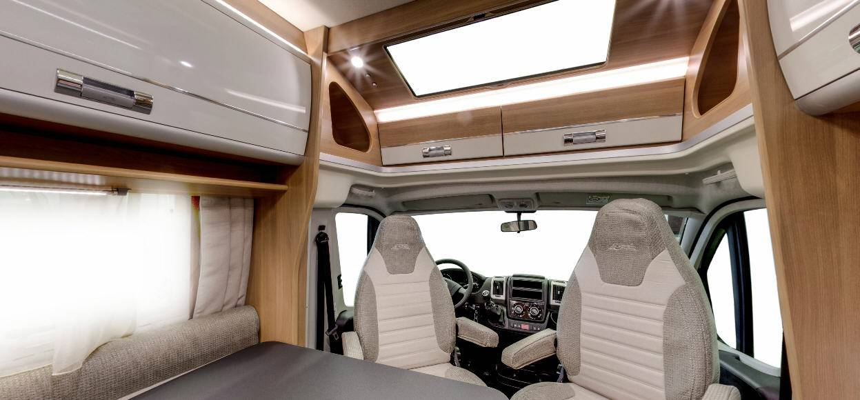 Laika Ecovip EV300 - Interior