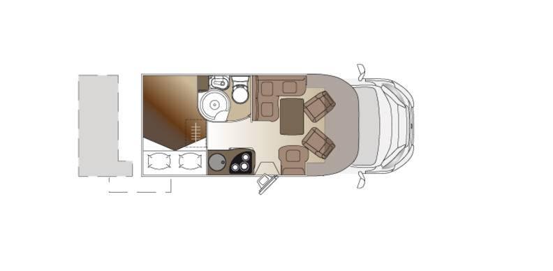 Laika Ecovip EV300 - Plano - Distribución