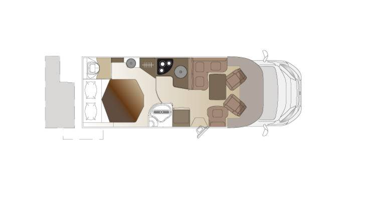 Laika Ecovip EV312 - Plano - Distribución
