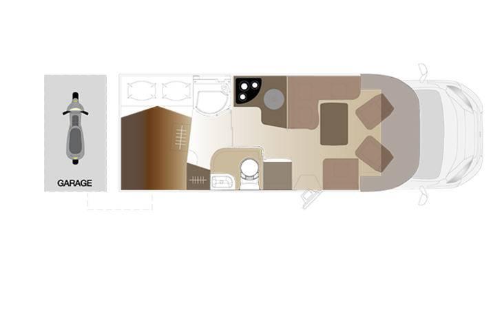 Laika Ecovip EV390 - Plano - Distribución