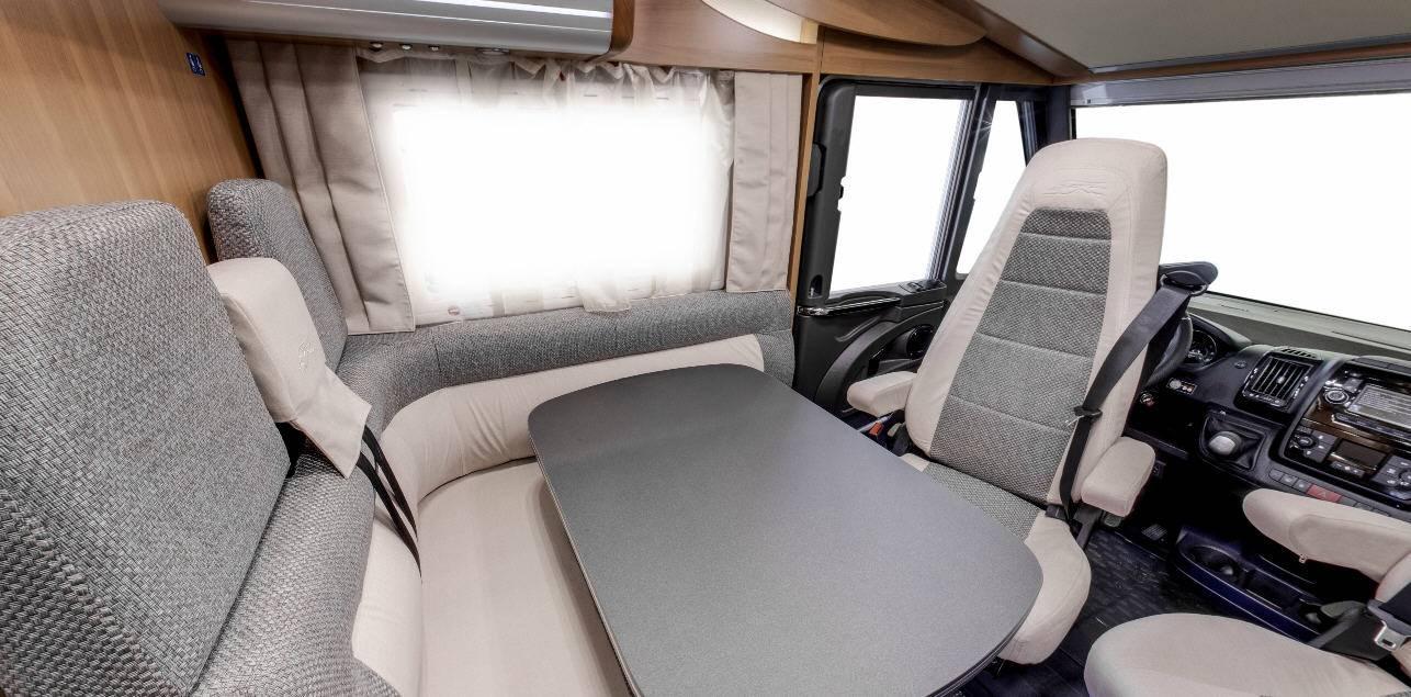 Laika Ecovip EV609 - Interior