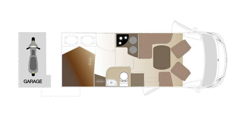 Laika Ecovip EV690 - Plano - Distribución