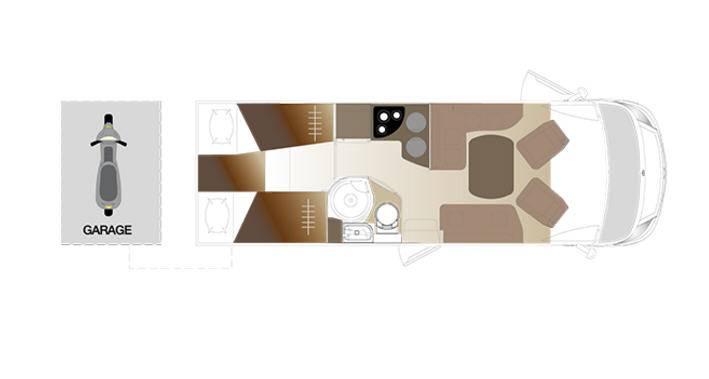 Laika Ecovip EV709 - Plano - Distribución