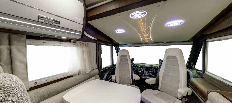 Laika Ecovip EV712 - Interior