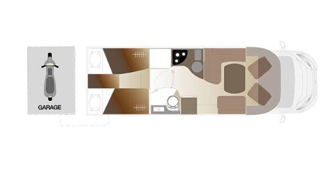 Laika Kreos 5009 - Plano - Distribución