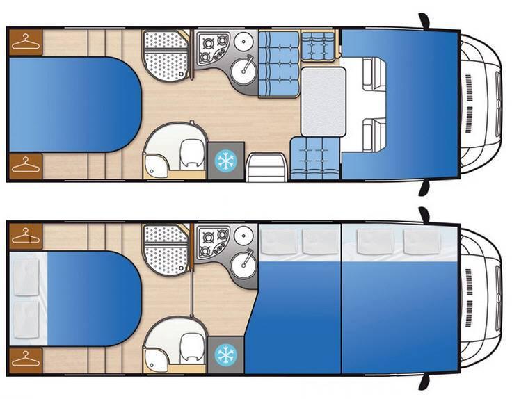 Mclouis Tandy 638G - Plano - Distribución