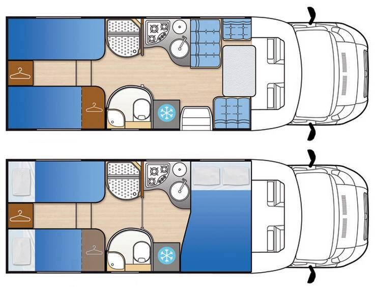 Mclouis Tandy 673G - Plano - Distribución