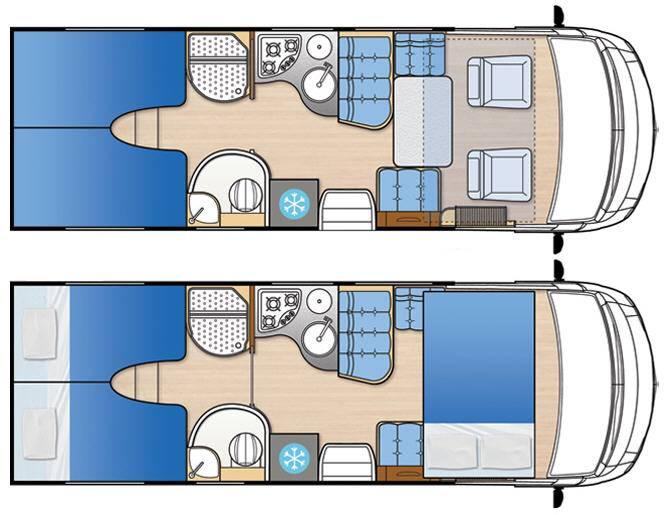 Mclouis Nevis 873G - Plano - Distribución