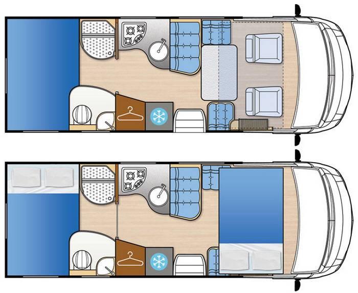 Mclouis Nevis 875G - Plano - Distribución