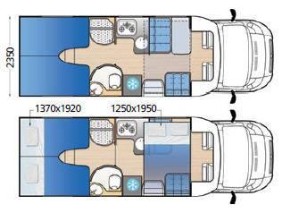Mclouis MC2 73 - Plano - Distribución