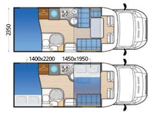 Mclouis MC4 60G - Plano - Distribución