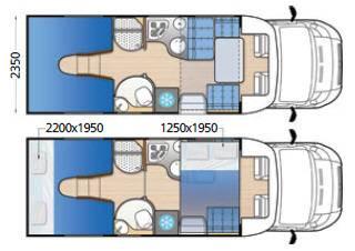Mclouis MC4 73 - Plano - Distribución