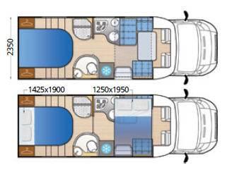Mclouis MC4 74G - Plano - Distribución