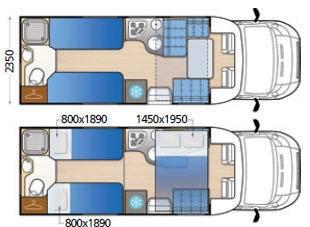 Mclouis MC4 75 - Plano - Distribución