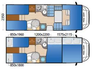 Mclouis Tandy 637G - Plano - Distribución