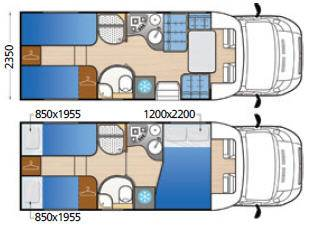 Mclouis Tandy 673 - Plano - Distribución