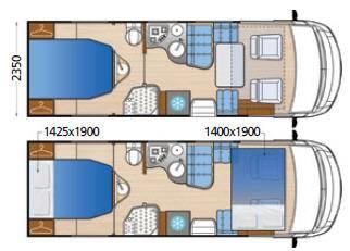 Mclouis Nevis 880 - Plano - Distribución