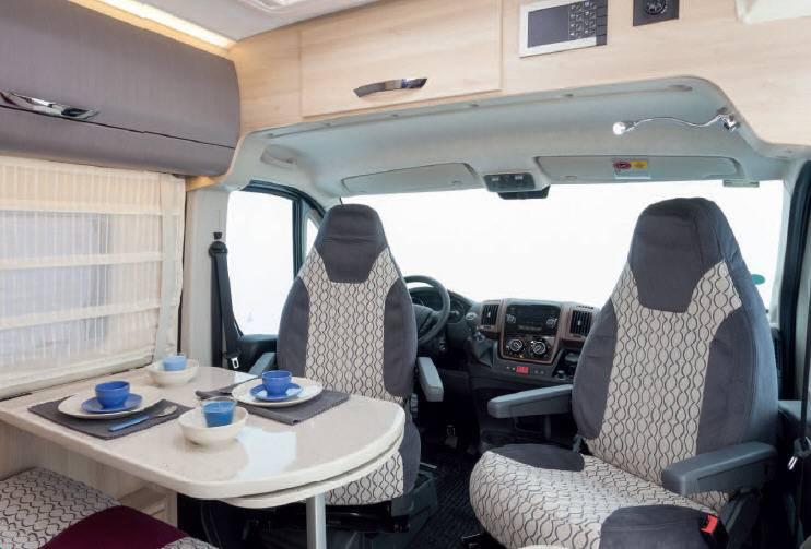 Mclouis S-LINE VAN 3 MAXI - Interior