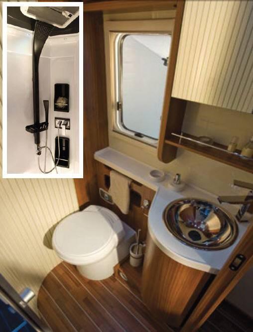 Mobilvetta Krosser P94 - Interior