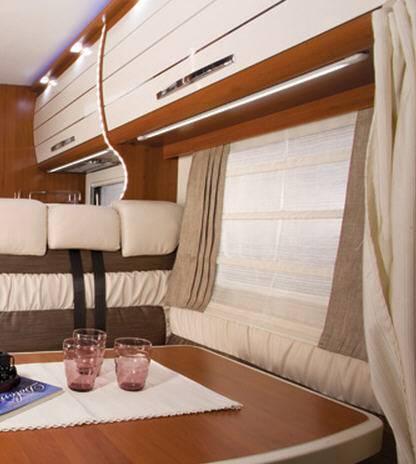 Mobilvetta Kea M71 - Interior